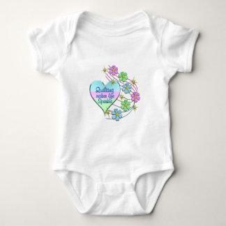 Body Para Bebê Sparkles estofando