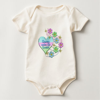 Body Para Bebê Sparkles Sewing