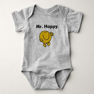 Body Para Bebê Sr. Feliz Ser Sempre Feliz do Sr. Homem |