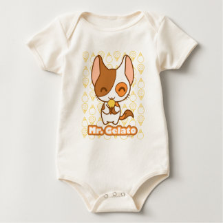 Body Para Bebê Sr. Gelato