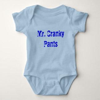 Body Para Bebê Sr. Irritadiço Calça