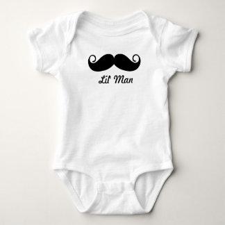 Body Para Bebê Sr. Moustache Hipster Teste padrão