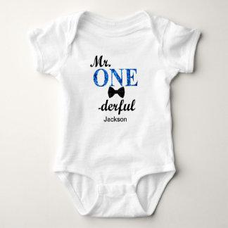 Body Para Bebê Sr. ONEderful Bebê Jérsei Bodysuit