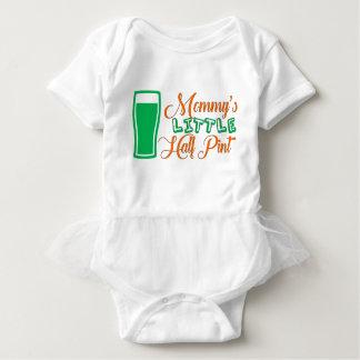 Body Para Bebê St Patrick da pinta da mamã o dia de pouco meio