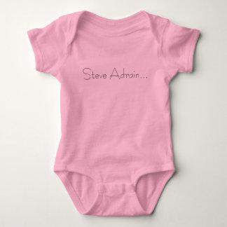 Body Para Bebê Steve Adrain…