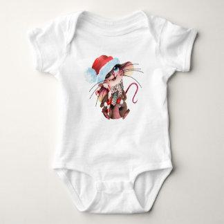 Body Para Bebê Strampler para Weihnachtsmäuse