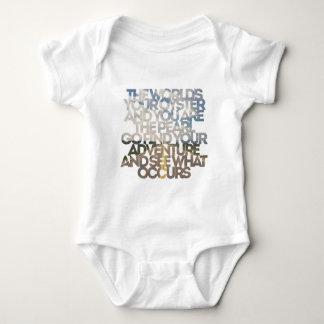 Body Para Bebê Sua ostra do mundo