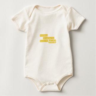 Body Para Bebê Sua realidade define como você percebe o mundo