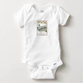Body Para Bebê substitutos irlandeses do futebol