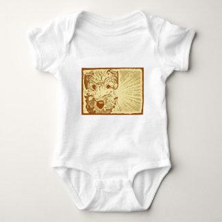 Body Para Bebê Sunburst Wheaten do filhote de cachorro de Terrier