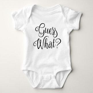 Body Para Bebê Suposição que anúncio | da gravidez do bebê