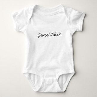 Body Para Bebê Suposição quem?