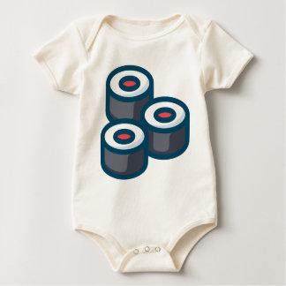 Body Para Bebê Sushi