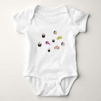 Body Para Bebê Sushi e Sashimi