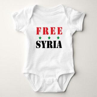 BODY PARA BEBÊ SYRIA LIVRE