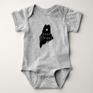 Body Para Bebê T cultivado em casa do estado de Maine