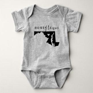 Body Para Bebê T cultivado em casa do estado de Maryland
