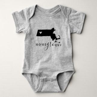 Body Para Bebê T cultivado em casa do estado de Massachusetts