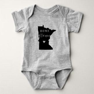 Body Para Bebê T cultivado em casa do estado de Minnesota