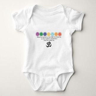 Body Para Bebê T da ioga do OM