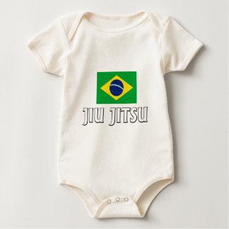 Body Para Bebê T de Jiu Jitsu do brasileiro