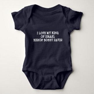 Body Para Bebê T do jérsei do bebê - inspirado espiritual
