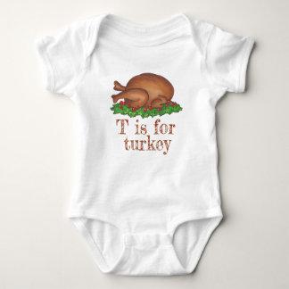 Body Para Bebê T é para o comensal Foodie do dia da acção de
