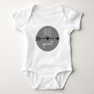 Body Para Bebê T na moda livre do gráfico da forma da rua do