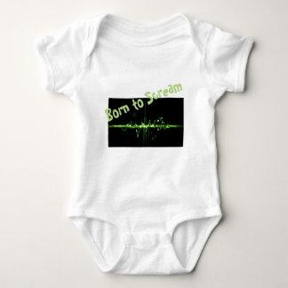 Body Para Bebê T-shirt adorável do bebê