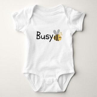 Body Para Bebê T-shirt da abelha ocupada