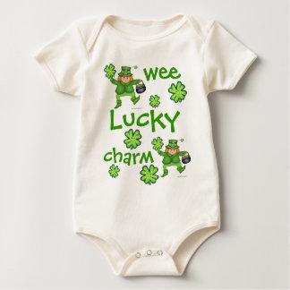 Body Para Bebê T-shirt do bebê do dia de St Patrick