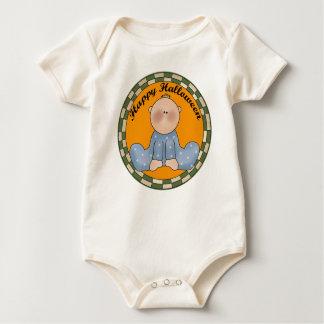 Body Para Bebê T-shirt do Dia das Bruxas do bebé