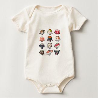 Body Para Bebê T-shirt do sushi: Sushi bonito & temperamental