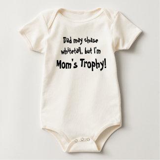 Body Para Bebê T-shirt do troféu da mãe de HH