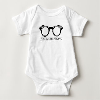 Body Para Bebê t-shirt futuro do arquiteto