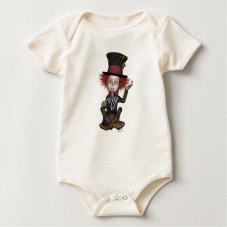 Body Para Bebê T-shirt loucos do Hatter