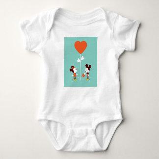 Body Para Bebê T-SHIRT macio do amor do espaço livre da aguarela