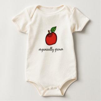 Body Para Bebê T-shirt orgânica crescido