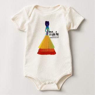 Body Para Bebê T-shirt orgânico do bebê da casa do design de TSX