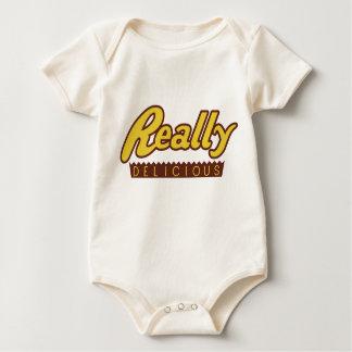 Body Para Bebê T-shirt realmente delicioso do bebê