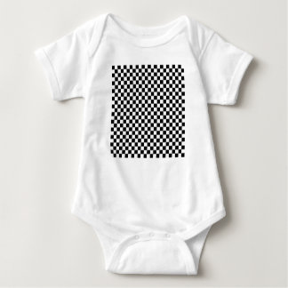 Body Para Bebê Tabuleiro de xadrez 24x24