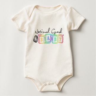 Body Para Bebê Tag do bebê da guarda nacional