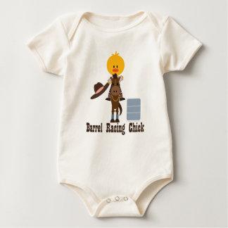 Body Para Bebê Tambor que compete o Bodysuit orgânico do bebê do