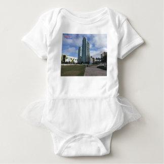 Body Para Bebê Tampa do centro, material de FL!