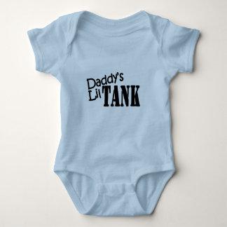 Body Para Bebê Tanque do Lil do pai