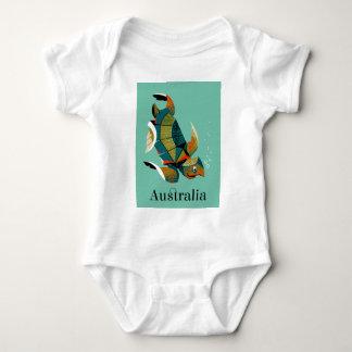Body Para Bebê Tartaruga de mar australiana animador