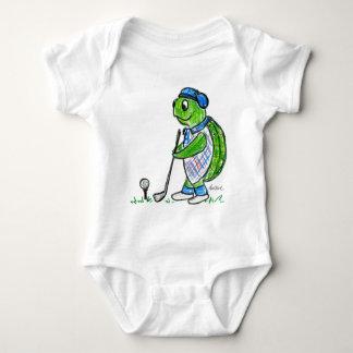 Body Para Bebê Tartaruga do golfe