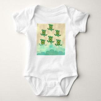 Body Para Bebê Tartarugas do bebê