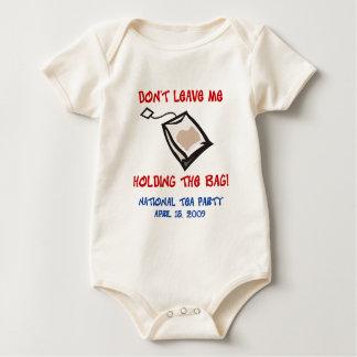 Body Para Bebê Tea party - guardarando o saco - criança
