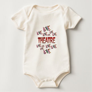 Body Para Bebê Teatro do amor do amor